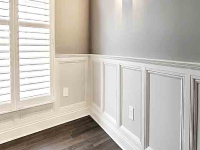 Crown Molding | Wainscoting Services | Interior Painting Services on